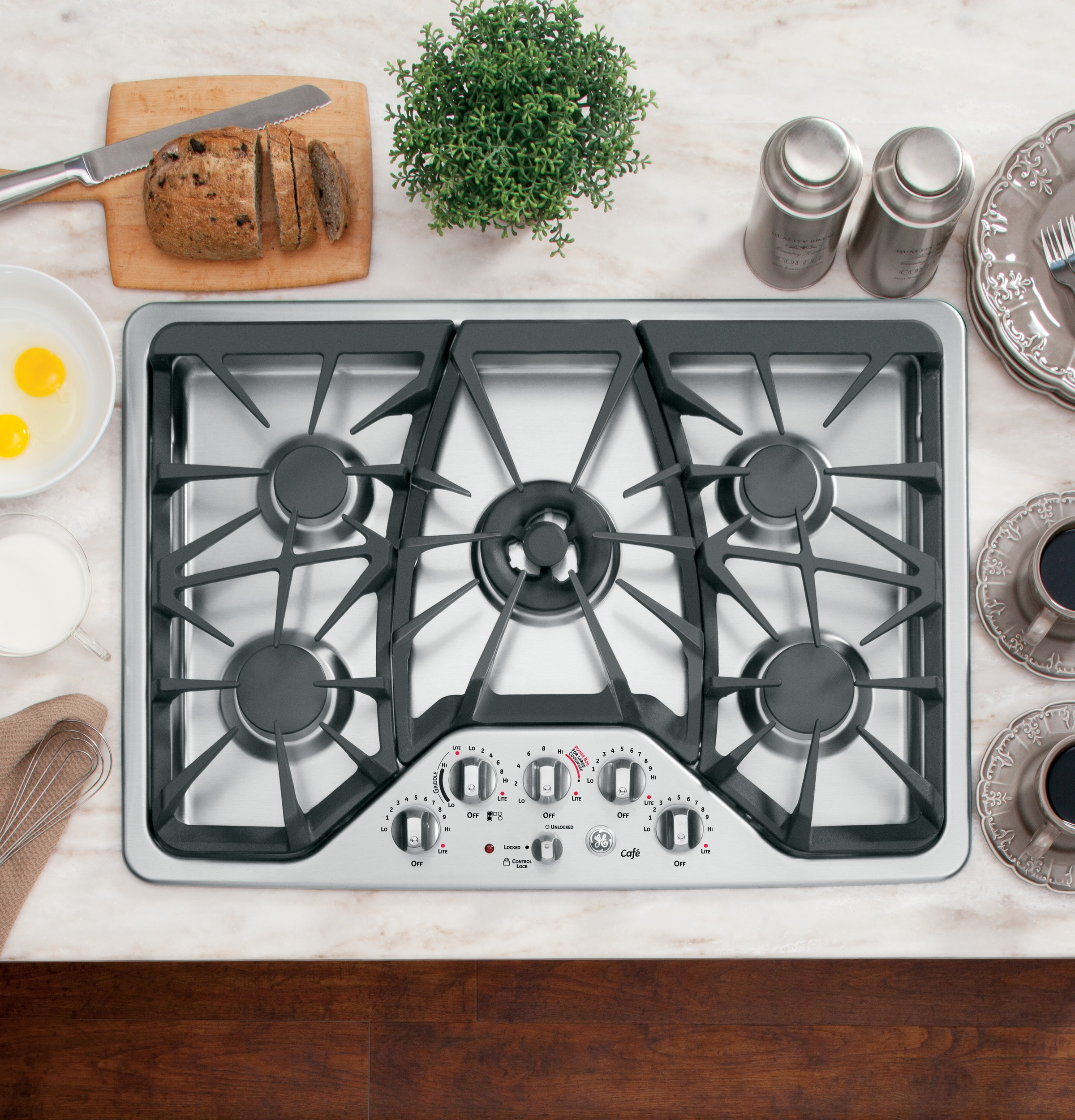 GE Cafe Gas Cooktops