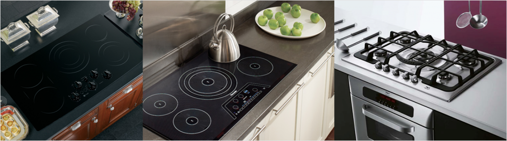 Induction vs Gas vs Electric Cooktops