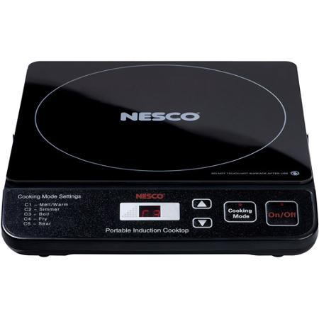 Nesco PIC-14 Portable Induction Cooktop, 1500-Watts