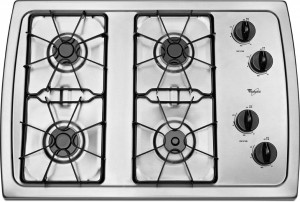 Whirlpool Gas cooktop reviews